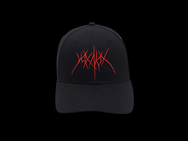 """Voice Of The Night"" Curved Cap (black) main photo"