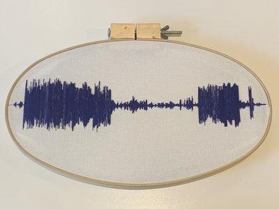 Cross-Stitched Sound Wave (large) main photo