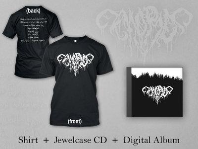 "Morð BUNDLE: Black Shirt + Jewelcase CD + Digital Album ""Sorg"" main photo"