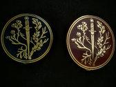 Oak Dagger Chamomile Hard Enamel Pin photo