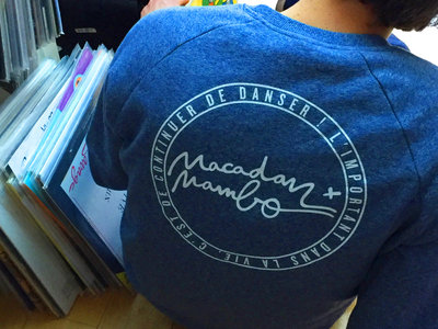 Macadam Mambo Sweat-Shirt LOGO front & back Blue /White Ltd (sold-out) main photo