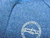 Macadam Mambo Sweat-Shirt LOGO front & back Blue /White Ltd (sold-out) photo