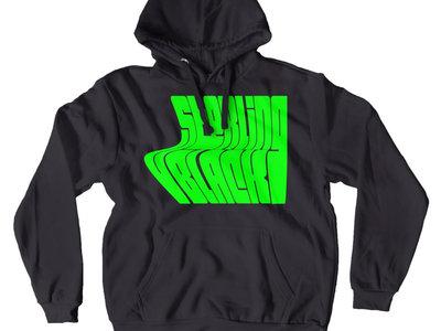 'Wave' Hoodie (Neon Green) main photo