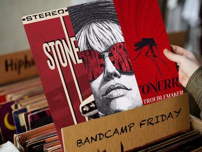 STONERROR, WIDOW IN BLACK & TROUBLEMAKER - 3 Vinyls main photo