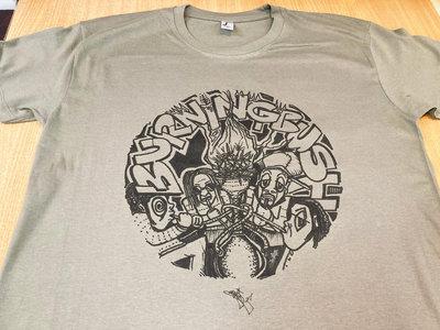 Burning Bush Communications T-Shirt (Khaki) main photo