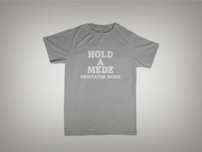 HOLD A MEDZ / BASIC GREY TEE main photo