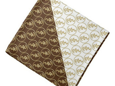 Gold, Brown 'N White Don Jaymor Bandana main photo