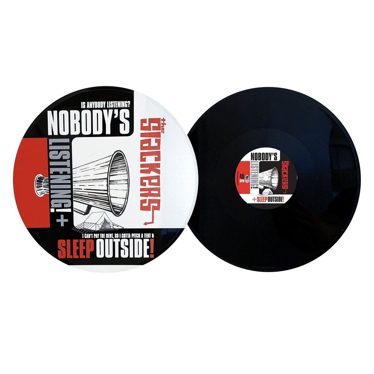 Nobody S Listening Sleep Outside The Slackers Read or print original nobody's listening lyrics 2020 updated! 12 uv digitally printed vinyl