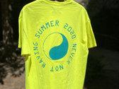Never Not Raving T-Shirt Neon Yellow photo