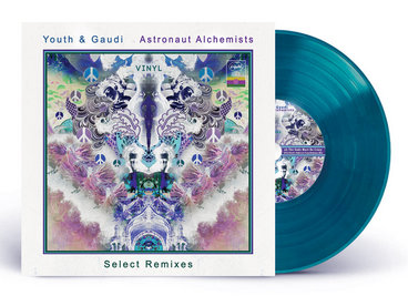 """*Limited Edition* 12"""" Transparent Turquoise Vinyl LP + cover art poster insert main photo"""