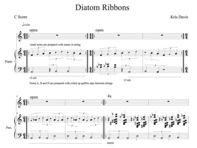 Complete Scores from Diatom Ribbons [PDF Score] main photo