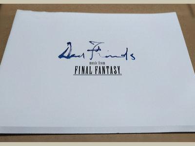 "Final Fantasy ""Dear Friends"" concert booklet main photo"
