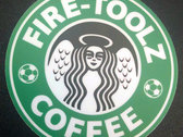 "Fire-Toolz Coffee 3"" Vinyl Sticker photo"