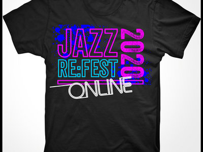 JAZZ RE:FEST 2020 T-SHIRT main photo