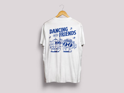 *PRE-ORDER* - Dancing With Friends Tshirt - White main photo