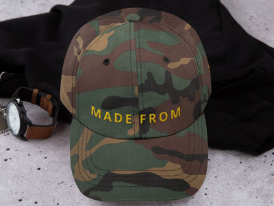 MADE FROM SCRATCH - GREEN CAMO HAT main photo