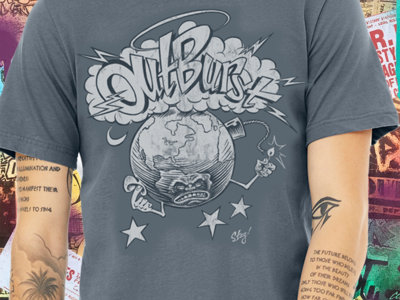 """Outburst """"Mad At The World"""" T-Shirt by Sean Taggart main photo"""