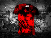 TOKYO ROSE Sigil ( Red/Black Tie Dye T-Shirt) photo