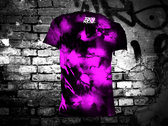 TOKYO ROSE Sigil ( Purple Tie Dye T-Shirt) photo