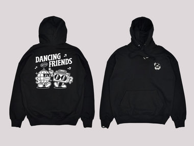 *PRE-ORDER* - Dancing With Friends Hoodie - Black main photo