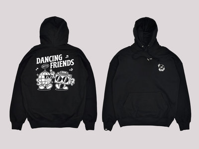Dancing With Friends Hoodie - Black main photo