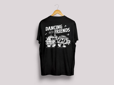 *PRE-ORDER* - Dancing With Friends T-Shirt - Black main photo