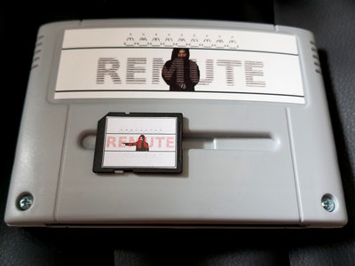 The Cult Of Remute DELUXE PACK [SNES / SFC Cart + NintendoDS ROM-File on custom made SD-Card] main photo