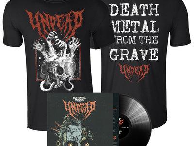 EXISTENTIAL HORROR - Pack: Vinyl + Black T-Shirt main photo