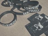 """Bracelet """"Sergey Cheremisinov"""" + Vinyl Sticker photo"""