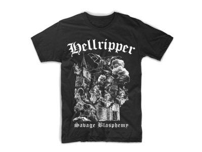'Savage Blasphemy' T-Shirt (Size 2XL - 4XL) main photo