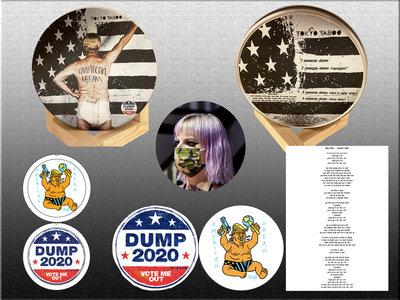 """American Dream"" CD in Hand-Numbered Metallic Tin + more BUNDLE main photo"