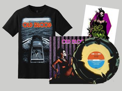 """12"""" Vinyl LP + 'Lake Bottom' shirt bundle main photo"""