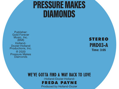 "Freda Payne – We've Gotta Find A Way Back To Love / Two Wrongs Don't Make A Right – 7"" vinyl main photo"