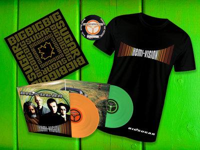 Hemi-Vision Deluxe LP bundle with Mens T-shirt main photo