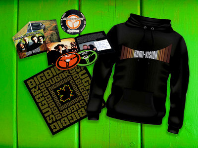 Hemi-Vision Deluxe CD bundle with Hoodie main photo