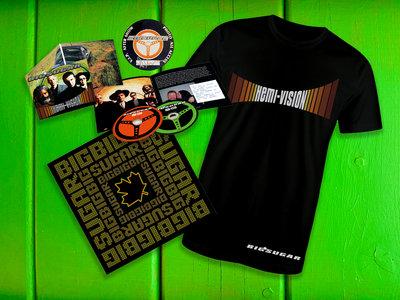 Hemi-Vision Deluxe CD Bundle with Mens T-shirt main photo