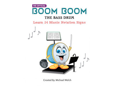 Boom Boom the Bass Drum  24 Notation Signs / Paperback Book main photo