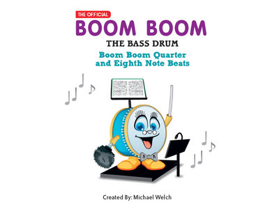 Boom Boom Quarter and Eighth Note Beats / Paperback Book main photo