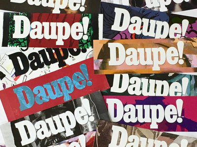 Daupe! XL sticker pack main photo