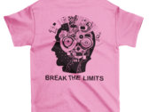 Classic Break The Limits T Shirt, printed both sides photo