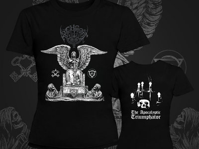 The Apocalyptic Triumphator Women T-Shirt *Print On Demand* main photo