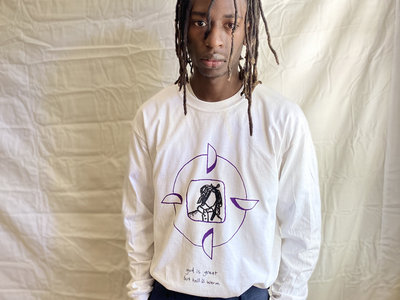 """""""Tied Together"""" Longsleeve White main photo"""