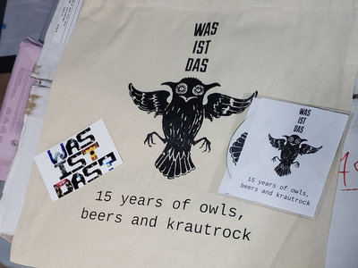 15 year anniversary tote bag, mix CD & sticker main photo