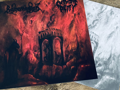 Chthonic Magick - split vinyl main photo