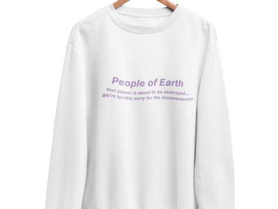 "TerrorVision ""People of Earth"" Sweatshirt main photo"