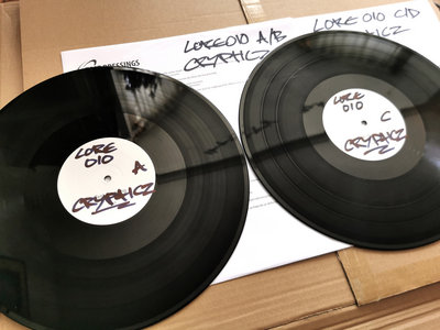 LORE010: Crypticz - Between Dust & Time (Test Press) main photo