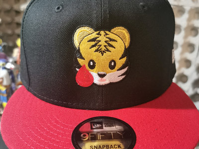 Tiger Blood Tapes x New Era Black & Red Embroidered Hat main photo