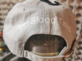 Tiger Blood Tapes x '47 Clean Up Pale Gray Embroidered Strapback Hat photo