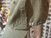 Tiger Blood Tapes x '47 Clean Up Olive Green Embroidered Strapback Hat photo
