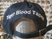 Tiger Blood Tapes x '47 Clean Up Black Embroidered Strapback Hat photo